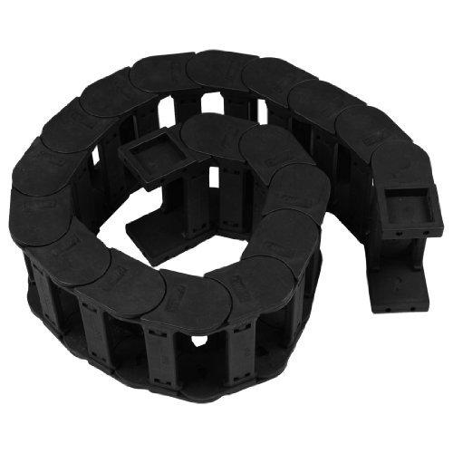 Corde en plastique noir 35mm x 100mm Câble chaîne Drag Carrier