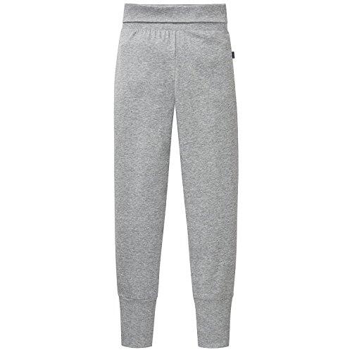 Schiesser Mädchen Schlafanzughose Mix&Relax Jersey Pants, Grau (Grau-Mel. 202), 164
