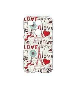 Vogueshell Love in Paris Printed Symmetry PRO Series Hard Back Case for LG Nexus 5X