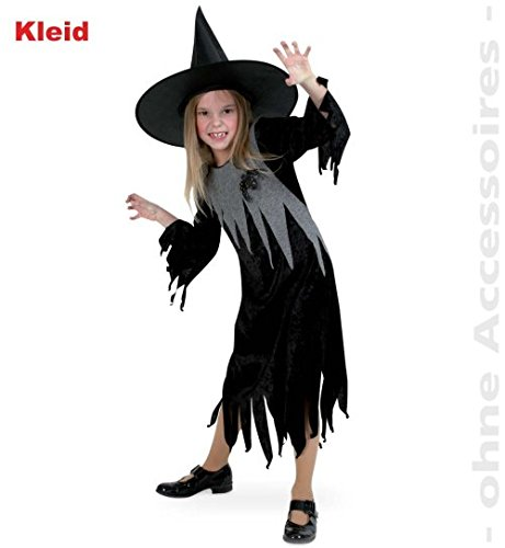 Halloween Kostüm Belle Kleinkind (Halloween Hexe Lucy Hexenkleid 2 tlg. Mädchen Kostüm Gr)