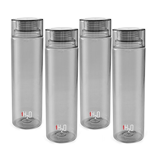 Cello H2o unbreakable Bottle Grey Set Of 4