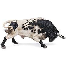 Deqube Bravo Berrendo Embistiendo Figura de Toro, 17x8x4,2 90110104