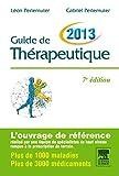 Guide de thérapeutique 2013