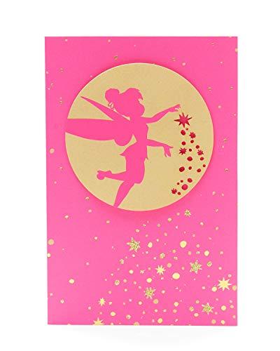 Carlton 519090–0Disney Tinkerbell Neon Geburtstagskarte für Sie