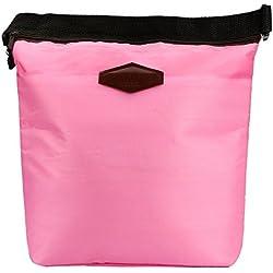 Zegeey Sac de couleur unie Sac Isotherme Sac à Déjeuner Résistant Durable Unisexe Réutilisable Sac de Plage pour Famille Pique-Nique