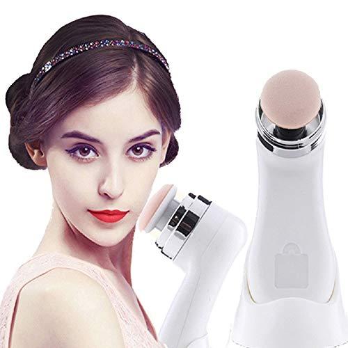 1set 3D elettrico Smart Foundation Face Powder Puff Vibrating make up applicatore fondotinta in scatola con 3extra Puffs makeup