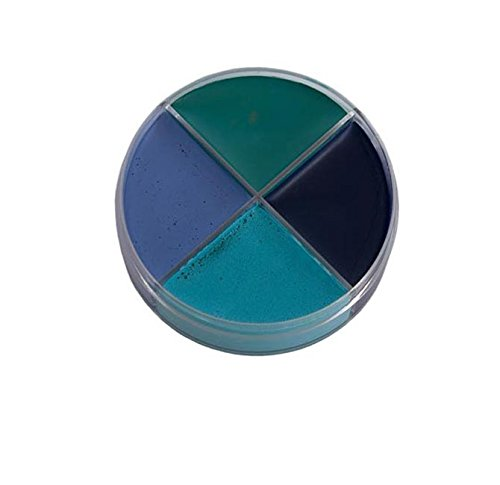 Make Up Ozean 4 Farben blau türkis 14g