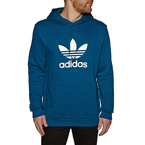 adidas Herren Trefoil Hoodie Sweatshirt, Legend Marine, L