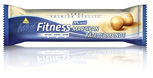 Active Fitness Riegel, Marzipan, 24 x 35g -