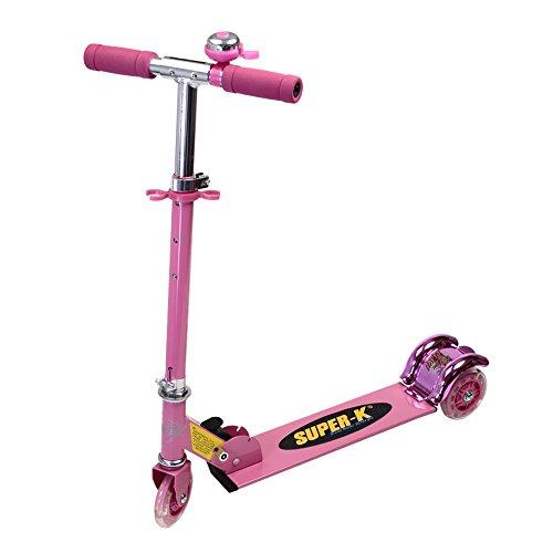 Preisvergleich Produktbild Docooler Folding Roller Mini Tretroller mit drei Rädern Roller