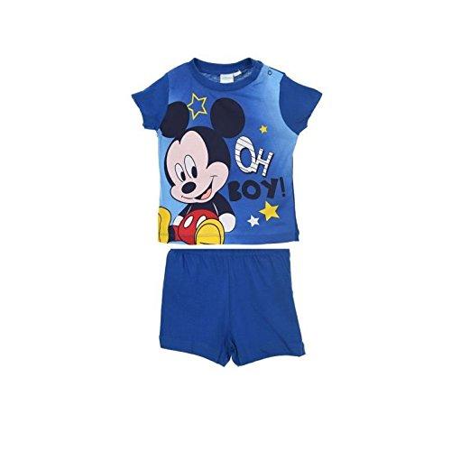 515d5a576 Mickey Mouse - Pijama entero - para bebé niño azul marino 24 meses