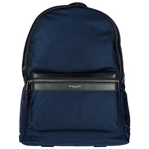 Michael Kors mochila bolso de hombre en Nylon nuevo blu