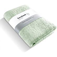 herzbach Home Toalla Premium Calidad de Lujo de 100% algodón egipcio 50 x 100 cm