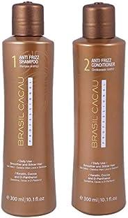 Brasil Cacau Hair Shampoo and Conditioner, Set of 2, 2 x 300 ml