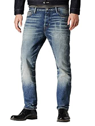 G-Star - Bleu Blades Tapered Dalex Jeans - Homme - Taille: W32-L30
