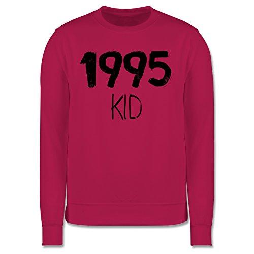 Geburtstag - 1995 KID - Herren Premium Pullover Fuchsia