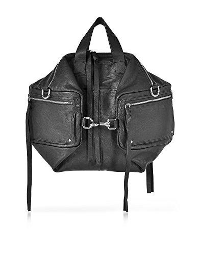 Mcq-Alexander-Mcqueen-Womens-470446R5B221000-Black-Leather-Shoulder-Bag