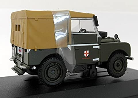 corgi vanguards collectors club land rover series 1 lincoln corporation transport dept car 1.43 scale limited edition diecast model by Corgi