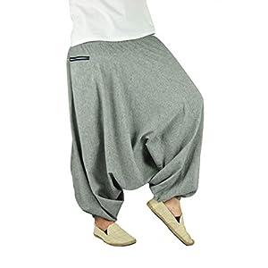 virblatt – Haremshose Herren Damen Yoga Hose und Hippie Hose – Geheimnisvoll