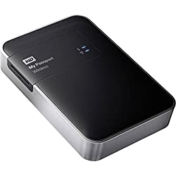 Western Digital WDBDAF0020BBK 2TB Portable Wireless External Hard Drive for Windows & Mac - Black