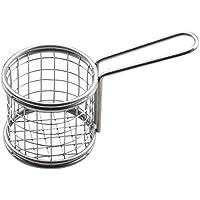 Huaxiong alimenti in acciaio INOX filtro colino–Round Deep Cup food