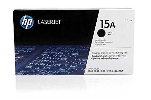 Laserjet 3380 Serie (Original Toner passend für HP LaserJet 1200 Series HP 15A , 15ABK , 15ABLACK , NO15A , NO15ABK , NO15ABLACK C7115A - Premium Drucker-Kartusche - Schwarz - 2.500 Seiten)