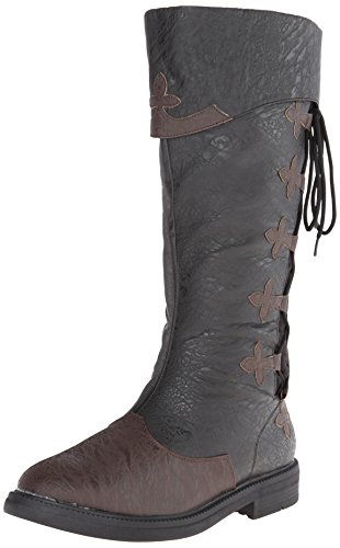 Funtasma Herren CAPTAIN-110 Klassische Stiefel, Schwarz (Blk-Brown Distressed Pu), 42 EU Funtasma Saddle