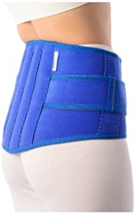 Vissco Neoprene Lumbar Back Belt - Medium (9-inch)