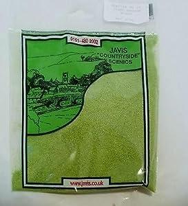 Scenic Scatter , Model Railway / Wargaming, Light Meadow Green, Javis