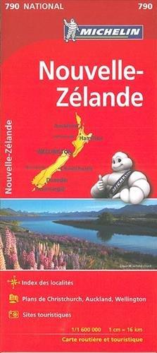 Carte Nouvelle-Zélande Michelin
