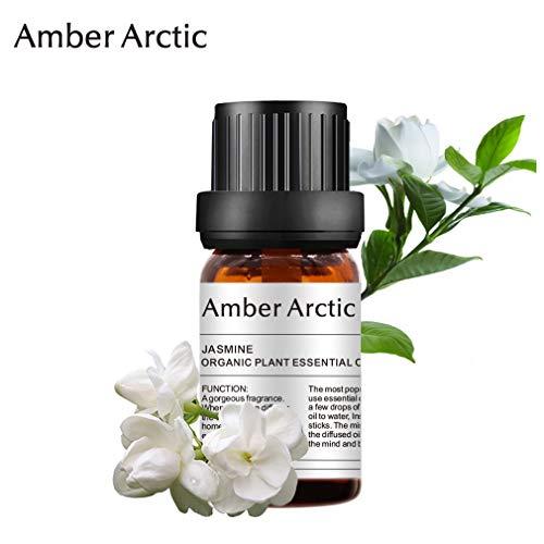 Aceite esencial de jazmín - 100% puro Aceite esencial de grado terapéutico, aceites de jazmín...