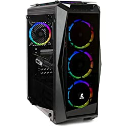 NITROPC - PC Gamer Extremo *Rebajas DE Octubre* (Intel i7: 6/12 x 4,60 GHz (Turbo), Nvidia RTX 2070 8GB, SSD 480, 2TB, Ram 32 GB + Windows 10)