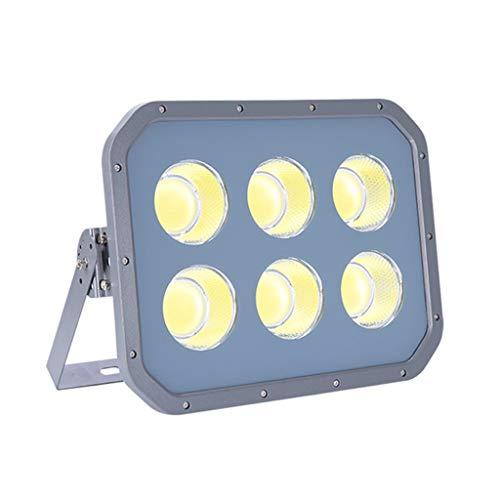 WKZ LED-Flutlichtstrahler Flutlicht-Scheinwerfer-Sicherheitslampe 6500K IP66 Wasserdichter Scheinwerfer-Hof-Stadion-Außenarbeiter (watt : 300W)