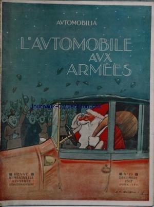 AUTOMOBILE AUX ARMEES (L') [No 19] du 31/12/1917