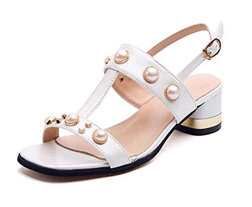 Wort cingulären offene Sandalen weibliche Sandalen weibliche Sommer Sandalen und Pantoffel White