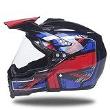 Qianliuk MotorradHelm motocicleta Casco Casque Capacete Helm Dirt Bike Off Road Motocross Helme