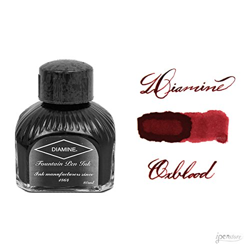 Diamine Refills Oxblood Bottled Ink 80mL - DM-7079 by Diamine -