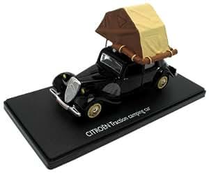 Eligor - 101202 - Véhicule Miniature - Citroen Traction - Camping Car Tente - Echelle 1/43