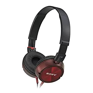 Sony MDRZX300R.AE Outdoor Headband Headphones - Red