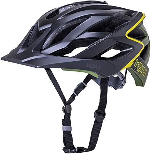 Kali Lunati Helm matt schwarz/Oliv Kopfumfang 59-61cm 2019 Fahrradhelm