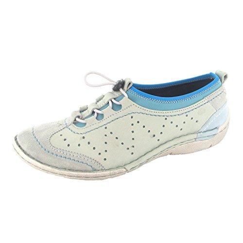 Josef Seibel , Chaussures de ville à lacets pour femme Gris Gris Gris
