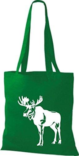 Shirtstown Stoffbeutel Tiere Elch, Elk, Karibus Kelly