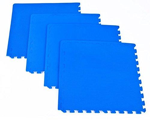 TATAMI Puzzle Teppich Designer Pflastersteinen 4PZ., 60x 60x 1,2cm