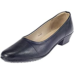 Khadim's Women's Faux Leather Ballerinas-5