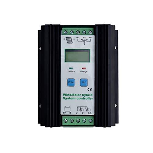 500 Watt Wind Solar Hybrid Controller 300 Watt windkraftanlage 200 Watt Solarpanel Laderegler 12 V / 24 V Automatische Batterie Controller mit Großen LCD Display - 12-volt-systemsteuerung
