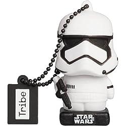 Tribe Star Wars 8 Stormtrooper Chiavetta USB da 32 GB Pendrive Memoria USB Flash Drive 2.0 Memory Stick, Idee Regalo Originali, Figurine 3D, Archiviazione Dati USB con Portachiavi