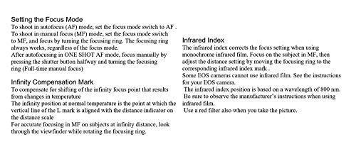 Bild 5: Canon Objektiv EF 50mm F1.4 USM Lens für EOS (Festbrennweite, 58mm Filtergewinde, AF-Motor) schwarz