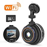 THIEYE Dash Cam Wifi Full HD 1080P, Mini Car DVR Dashboard Camera