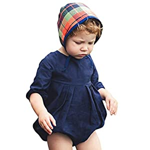 HEETEY Pijama para niña, recién Nacido, bebé, niña, niño, Monocromo, Monocromo, Conjunto de Ropa para niña, Caricatura, Conejo, Estampado 15