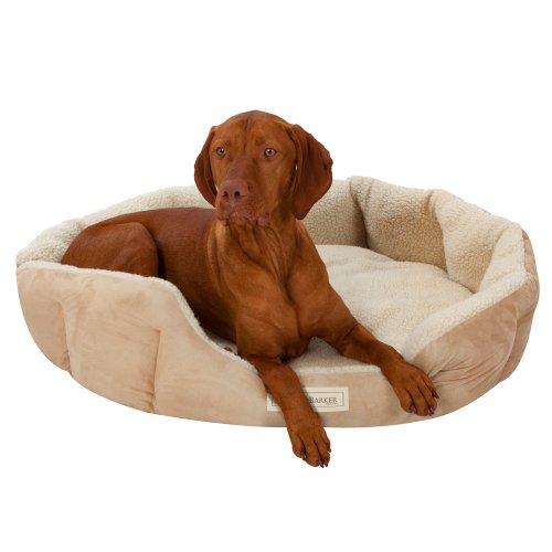 Ruff-Barker-Oval-Dog-Bed-NATURAL-Dog-Nest-LARGE-Dog-Beds-95cm-x-85cm-x-21cm